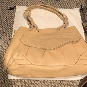 Cole Haan pebble leather handbag